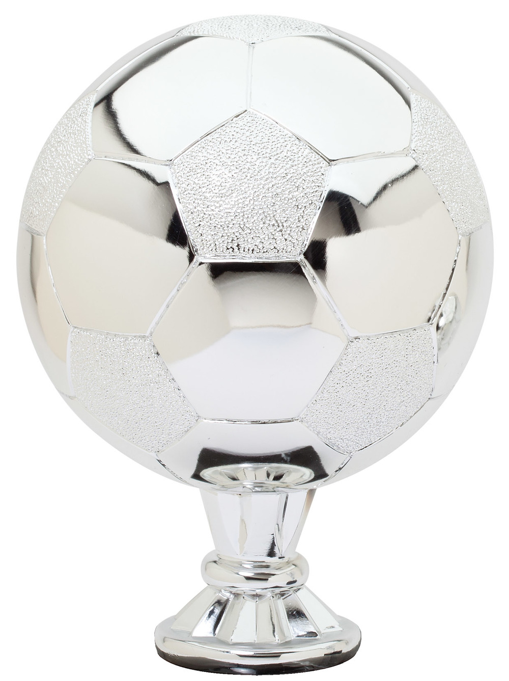 "Soccer - Silver   RG3213 - 11.5"" tall  Price = $109"