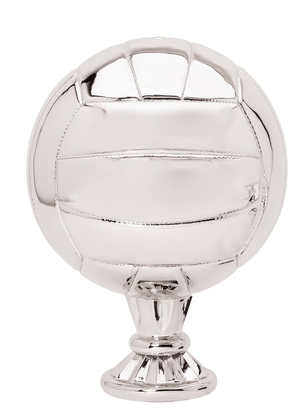 "Volleyball - Silver   RG3217 - 11.5"" tall  Price = $109"