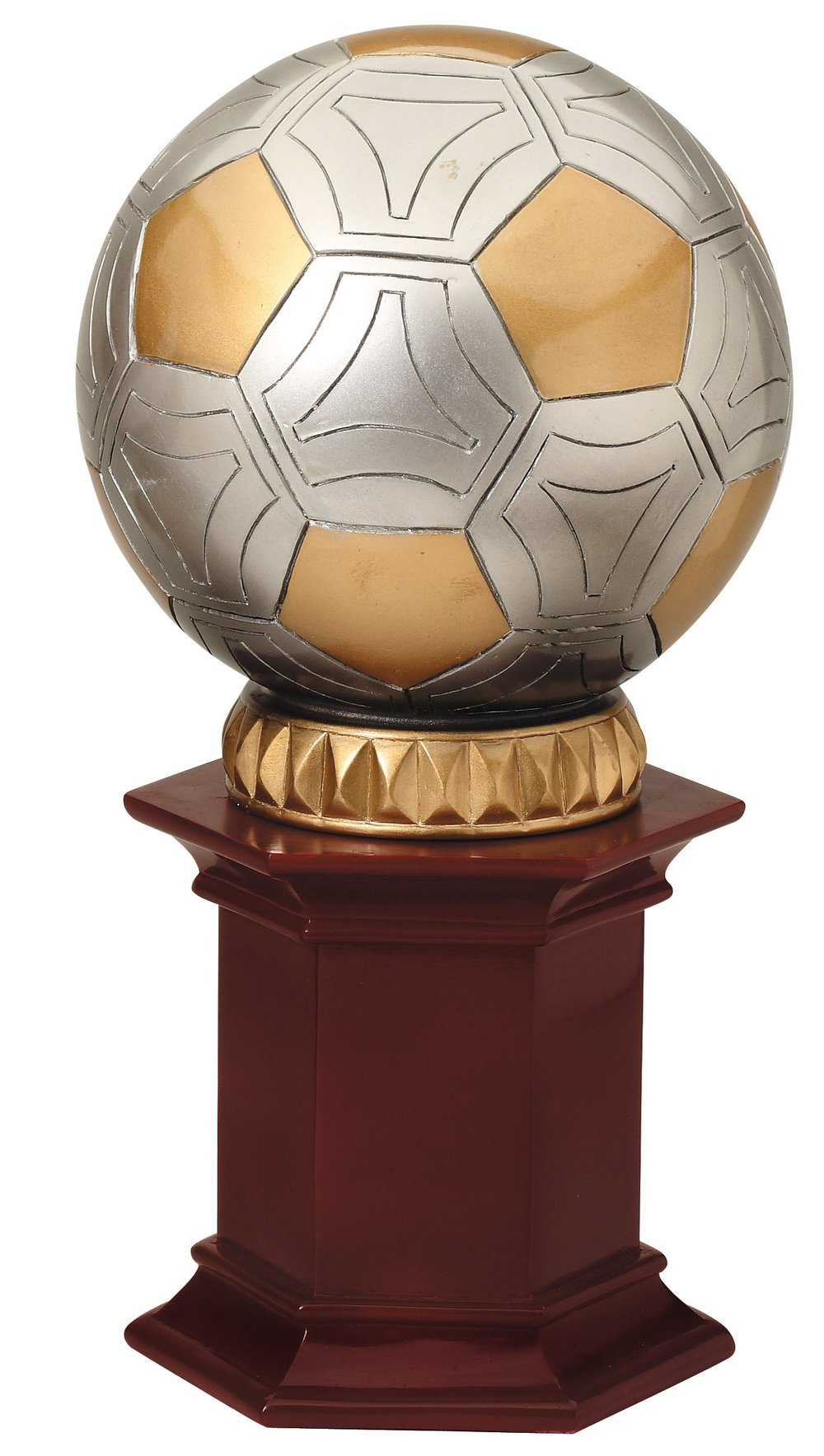 "Soccer   RF855  - 12"" tall   Price = $48"