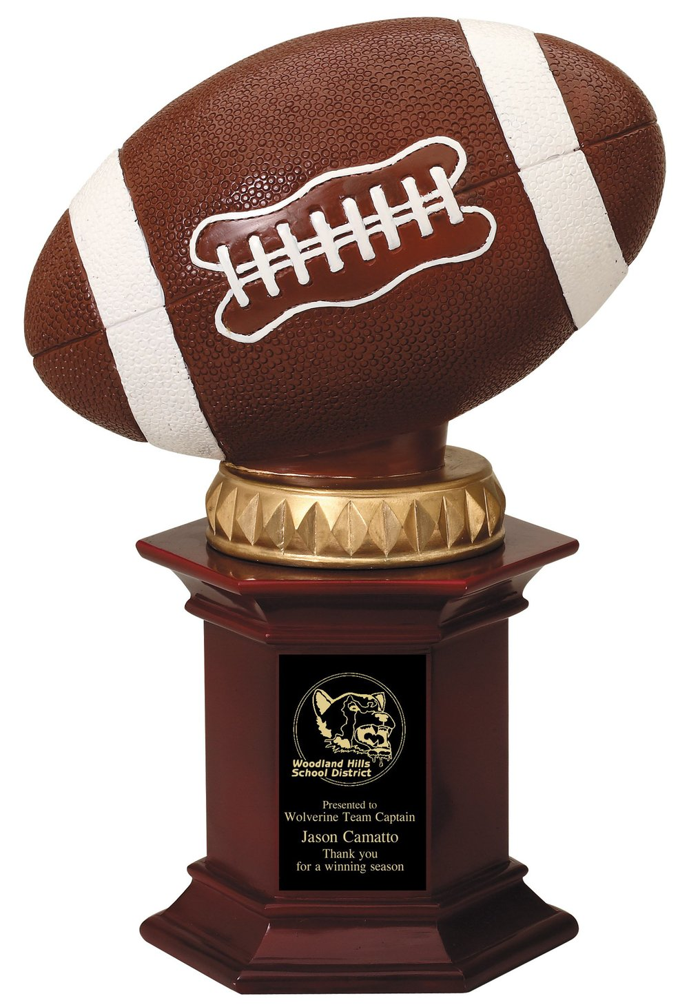 "Football   RF755 - 12"" tall   Price = $48"