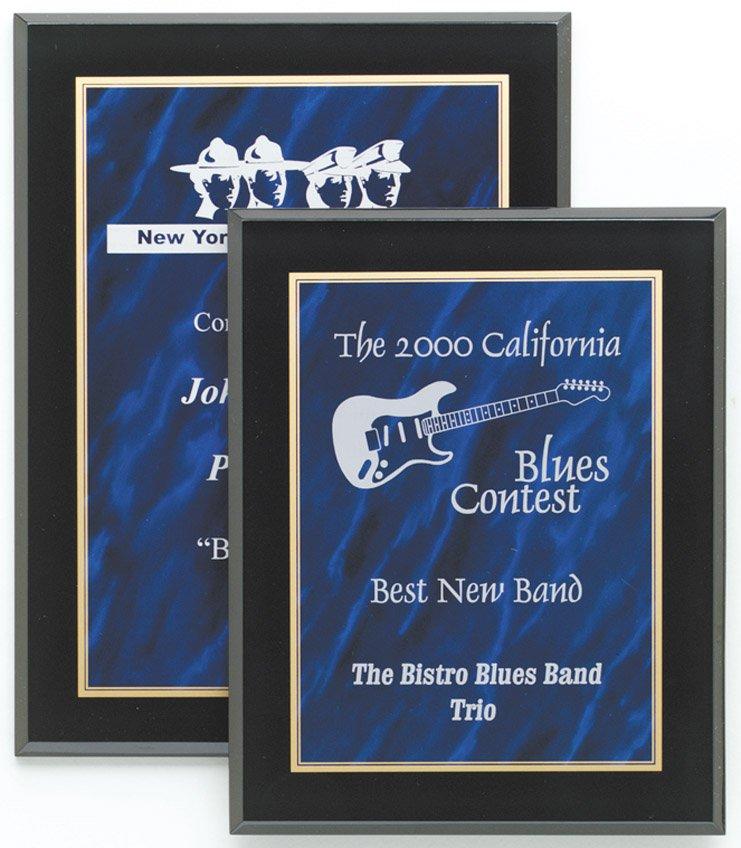 """Blue Marble Plaque 8"""" x 10"""" - CP810-B -$45 9"""" x 12"""" - CP912-B - $55"""