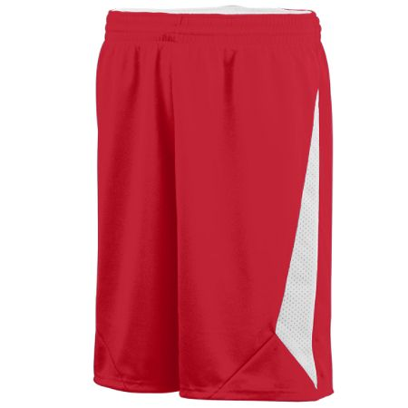 Augusta 1175/1176     Adult/Youth Reversible Basketball Short    100% Polyester Wicking Knit