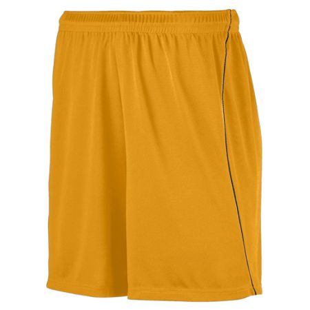 Augusta 460/461 Adult/Youth Soccer Short with Piping 100% Polyester Wicking Knit