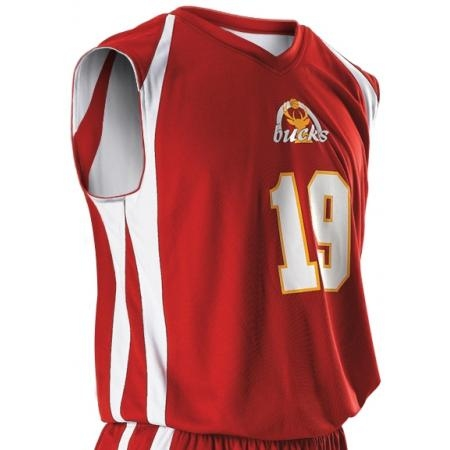 Alleson 54MMR/54MMRY     Adult/Youth Reversible Basketball Jersey    100% Polyester Mesh