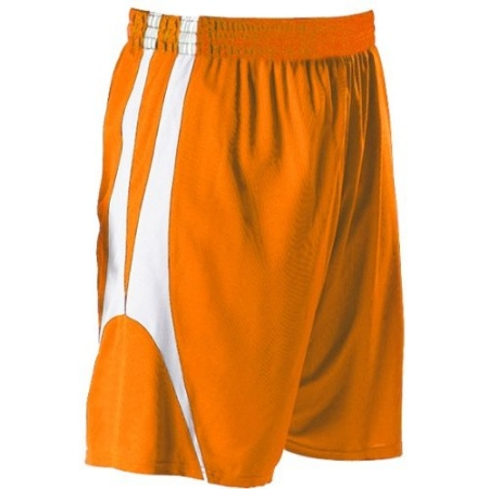 Alleson 54MMP/54MMPY     Adult/Youth Reversible Basketball Short    100% Polyester Mesh