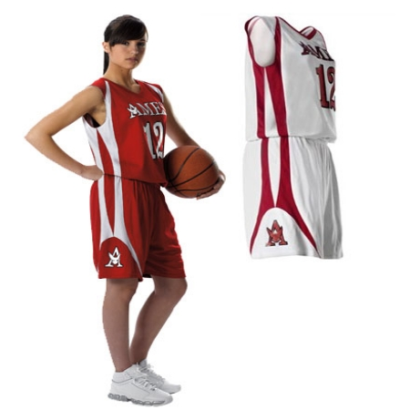Alleson 54MMRW     Ladies Reversible Basketball Jersey    100% Polyester Mesh