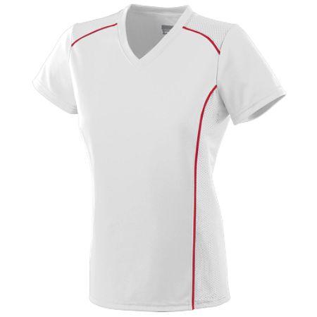 Augusta 1092/1093     Ladies/GirlsWinning Streak Jersey    100% Polyester Wicking Smooth Knit
