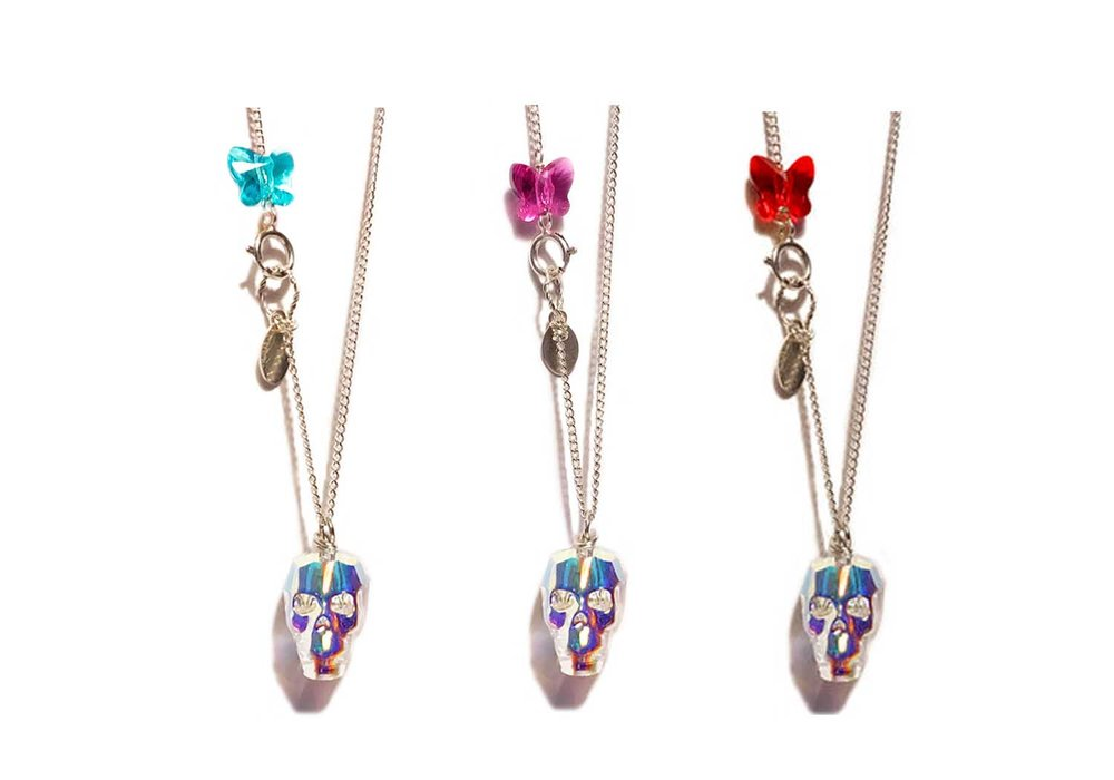 FRIDA SKULL PENDANTS $ 135.
