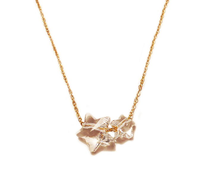 STAR NECKLACE $105.