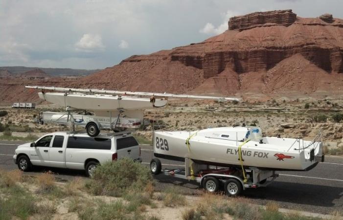 Pogo 2 USA 829 (ex- Flying Fox ) somewhere in Nevada.