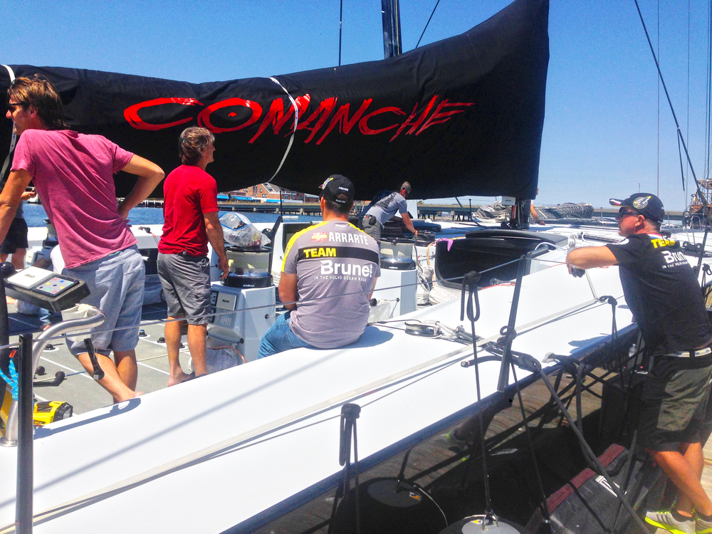 Team Brunel.  Meet Comanche.