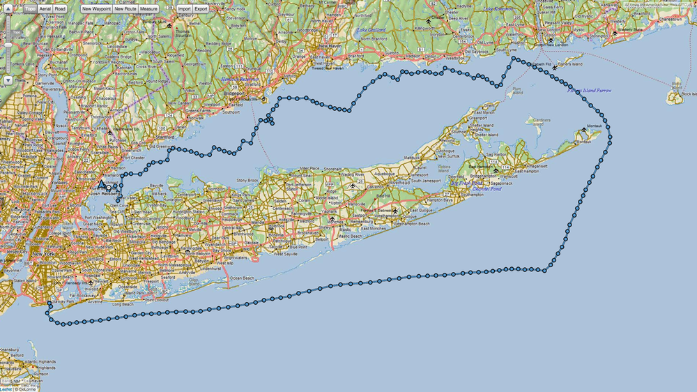 2015 Sea Cliff YC Around Long Island Regatta.