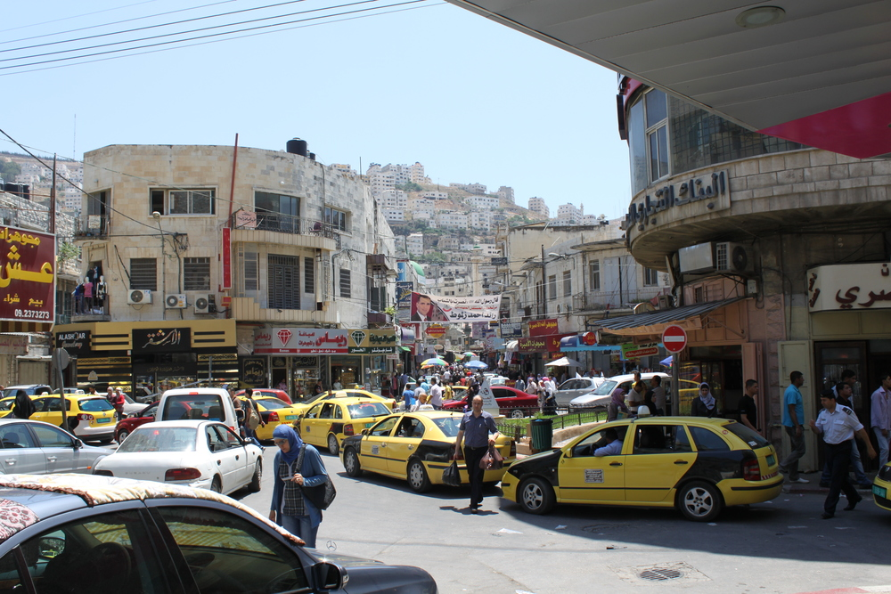 The picture above was taken in the bustling center of Nablus, in the West Bank. I took it in the summer of 2011, and it's one of my favorite places on earth (coincidentally, I happen to have been born there).