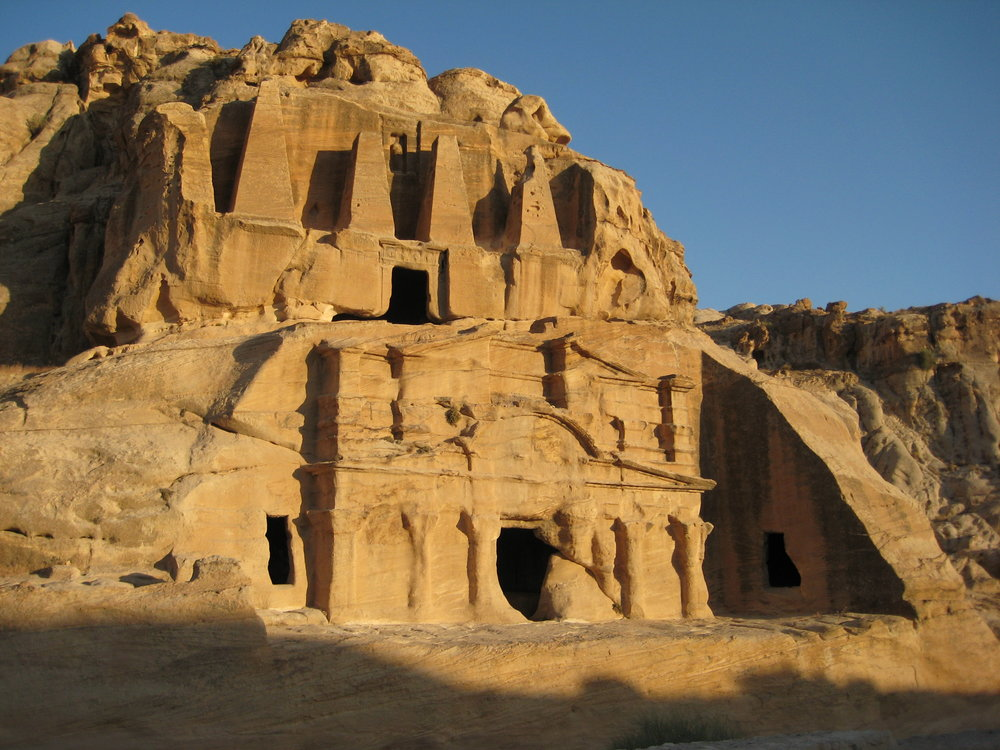 From my visit to Petra in 2010.