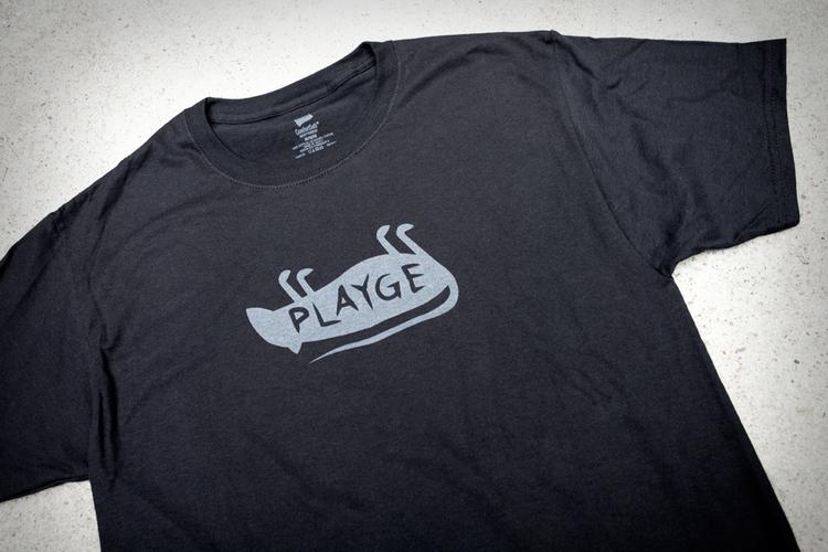 SHIRTS UP ON PLAYGE.NET Playge_rat_logo_shirt
