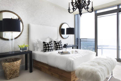 Wall+Treatment+pair+mirrors+glossy+black+chandelier+Natalie+toy+interior+design.jpg