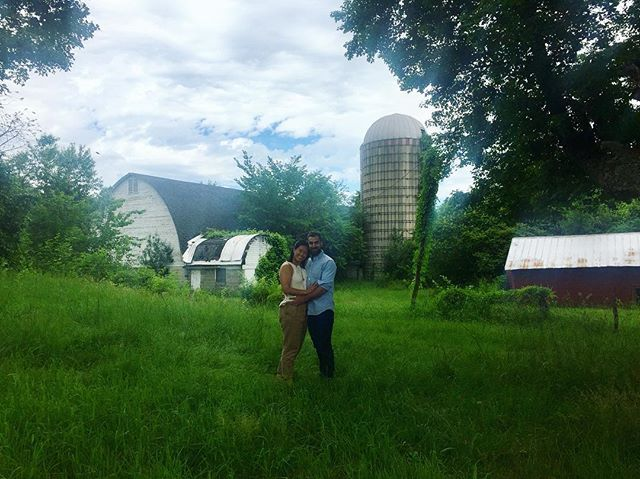 Once upon a time, we got married and bought a farm. The end.