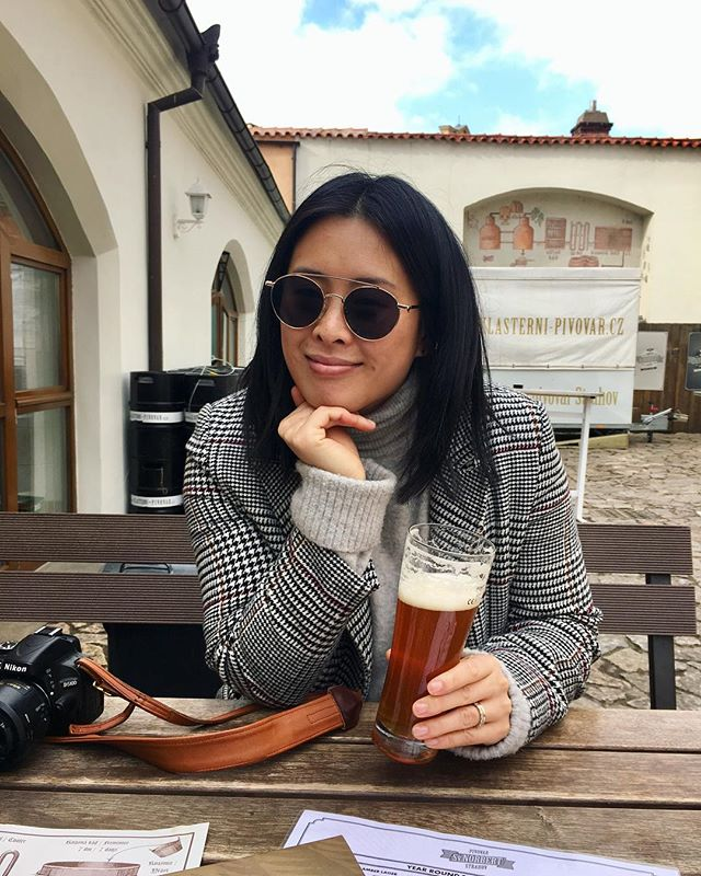 When at a monastery, do as the monks do. 🍻