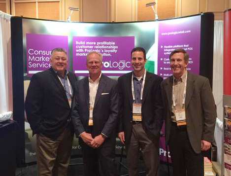 from left to right: Guy Keller, SVP Sales & Marketing; Al Smith; SVP Operations; Stephen Avola, Sales Executive and Ross Ely, President and CEO.