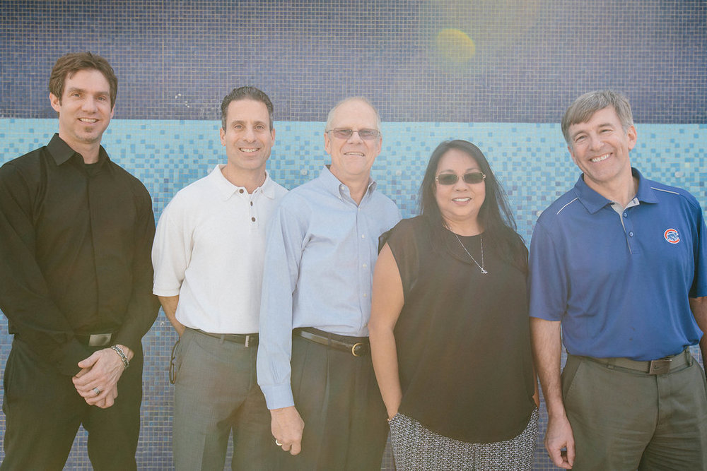 Pictured left to right: Scott Allen, Stephen Avola, Al Smith, Estela Santiago & Ross Ely