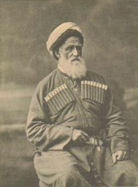Kirantukh Berzeg, the last Ubykh prince. (Credit: Wikimedia)