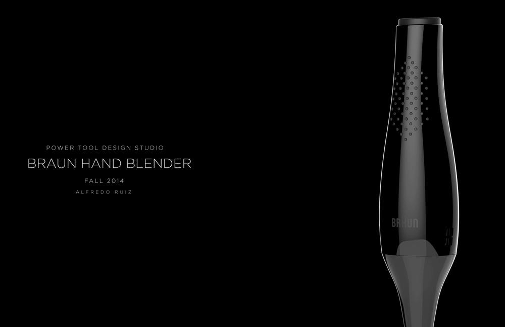 Hand Blender Design ~ Braun hand blender — alfredo ruiz