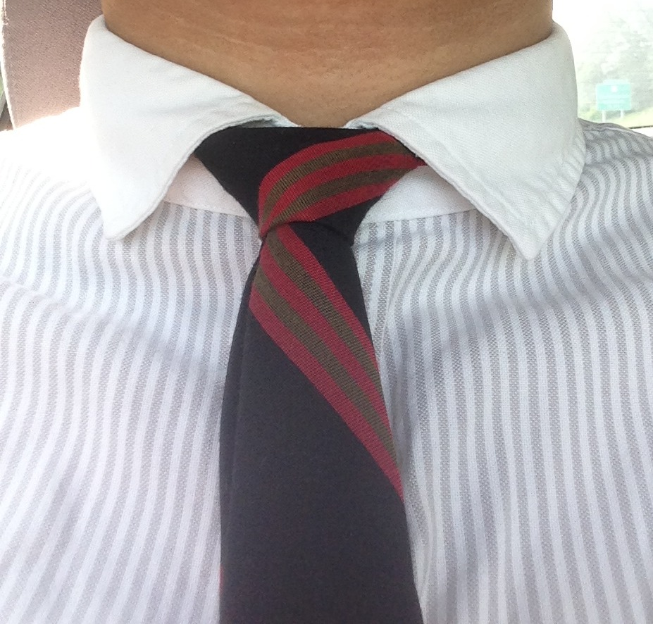 Tie and Shirt Thrifted