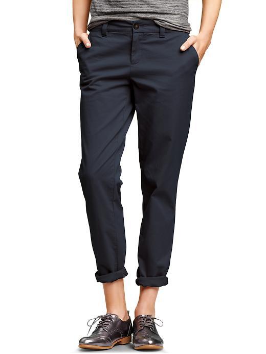 Gap Broken-In Straight Khakis  aka boi pants, $49.95
