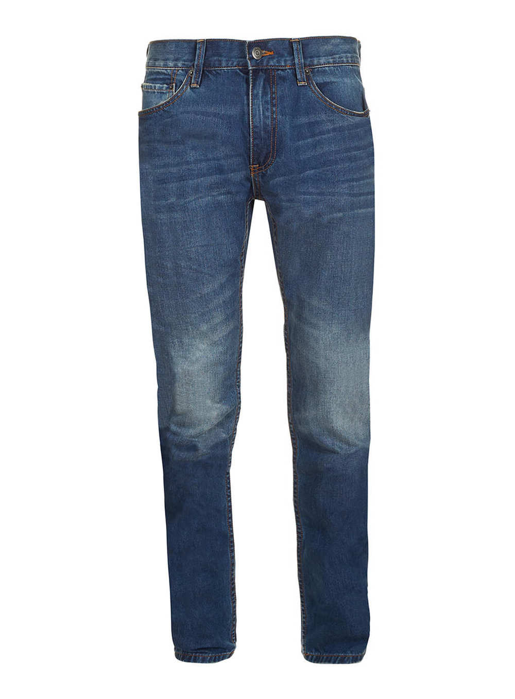 Topman Mid Wash Skinny Jeans , $72