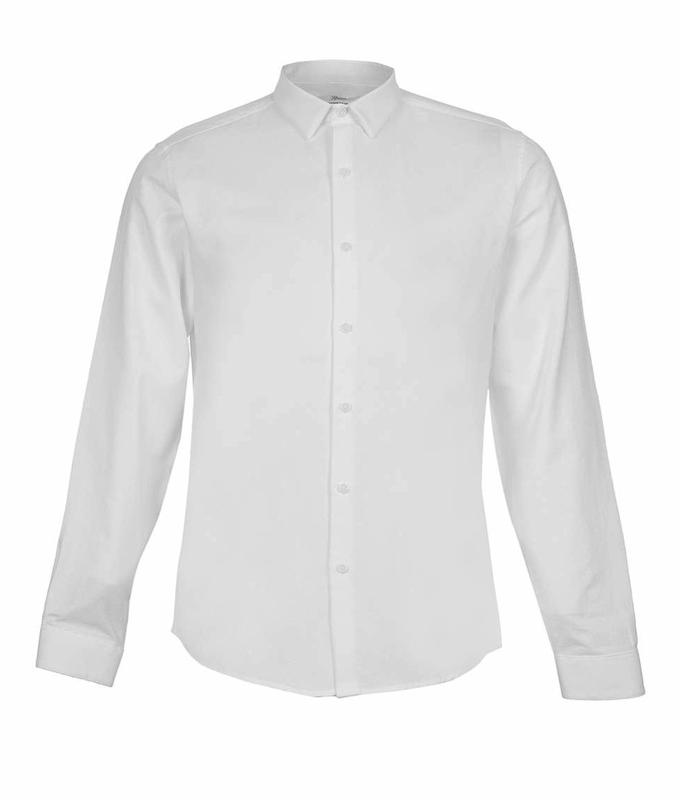 White Long Sleeve Dress Shirt, $60 at  Topman *
