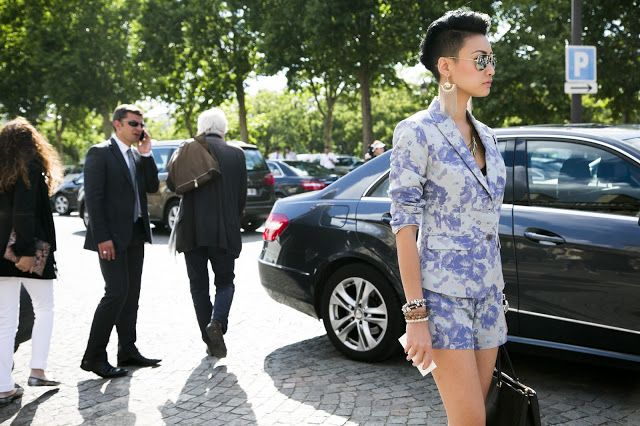I'm pretty sure this is Esther Quek's casual | from: fwstreetstyle.blogspot.fr