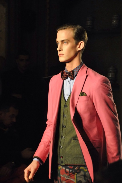 Oh the colors! Milan Mens Fashion Week-Moschino Autumn/Winter 2012 | From:  theclotheswhisperer.co.uk