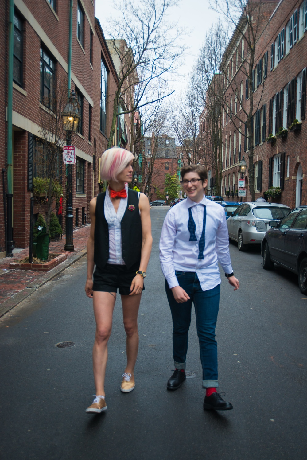 Qwear x SaintHarridan Bow Ties at Beacon Hill — Qwear