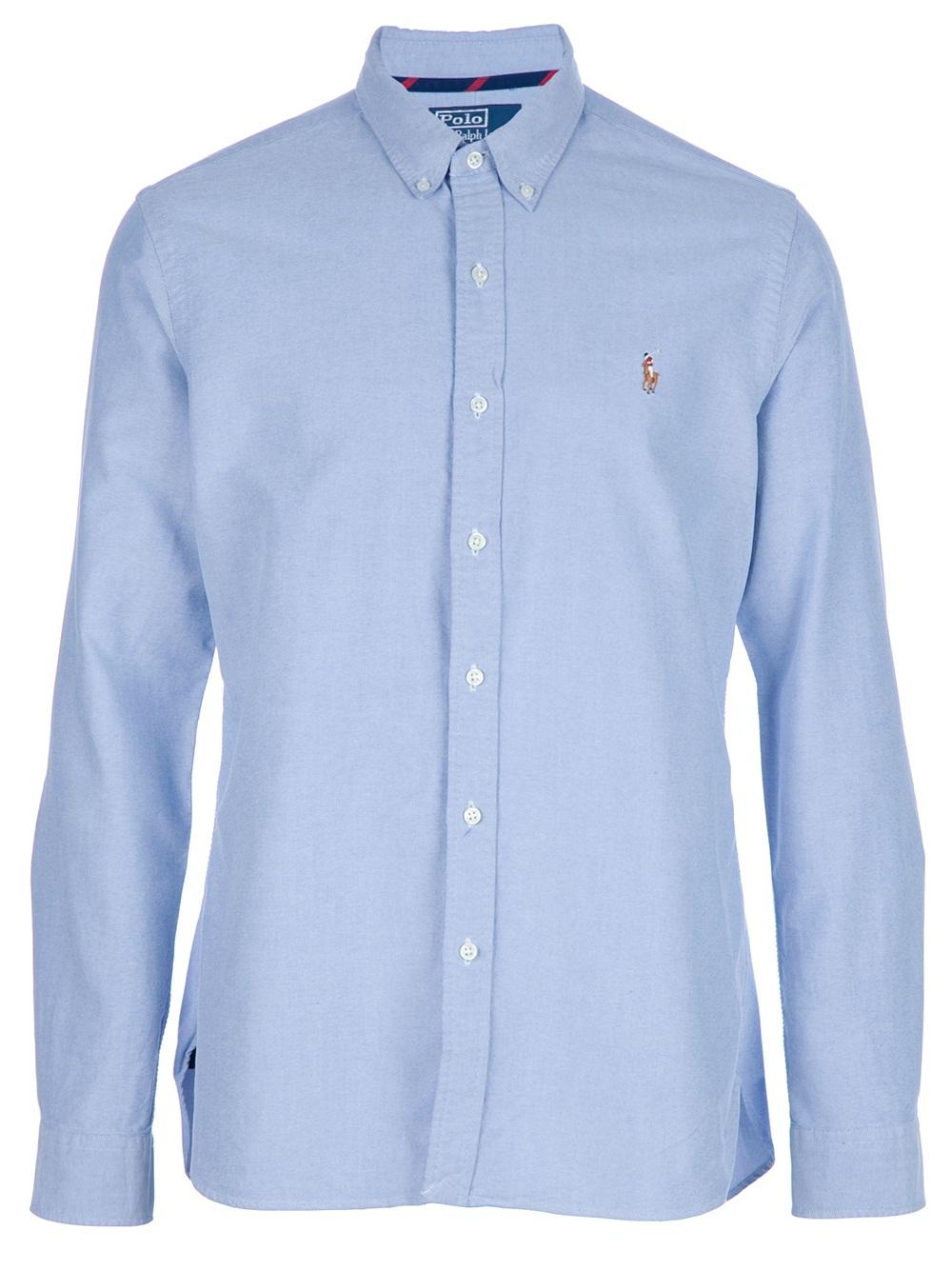Polo Ralph Lauren Oxford Shirt,$123.82 at Far Fetch