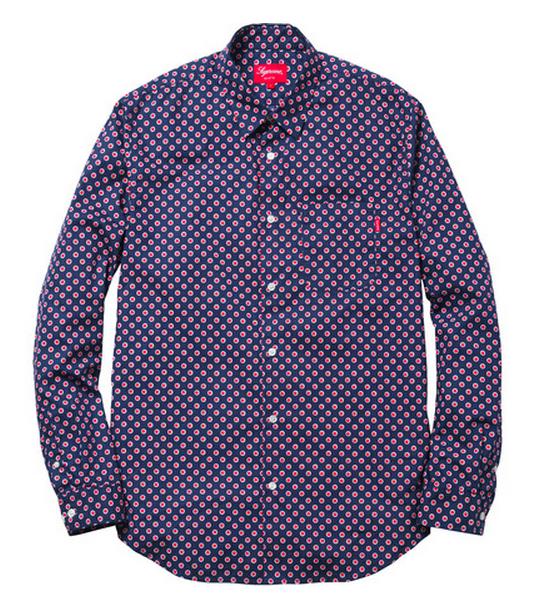 Supreme Dots Shirt, $118 atsupremenewyork.com
