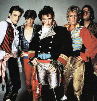 The New Romantics - Adam Ant and his band Adam in the Ant's were major purveyors of the New Romantic style.