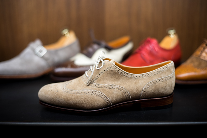 I'd wear these year round (even though they're suede). Love the color as well. | From:  thearmoury