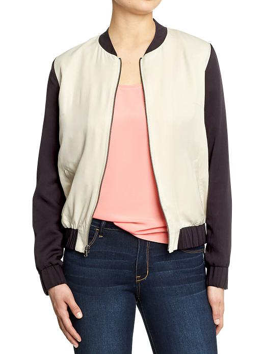 Women's Lightweight Twill Bomber Jackets, $36 at  Old Navy