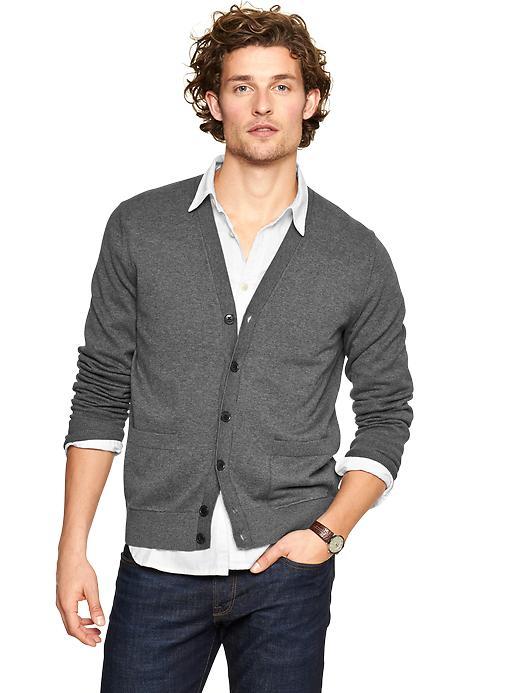 V-neck cardigan, $44.95 at  Gap