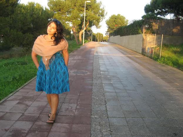 LuzMarina Serrano walking down a path I wish I was on inMallorca, Spain