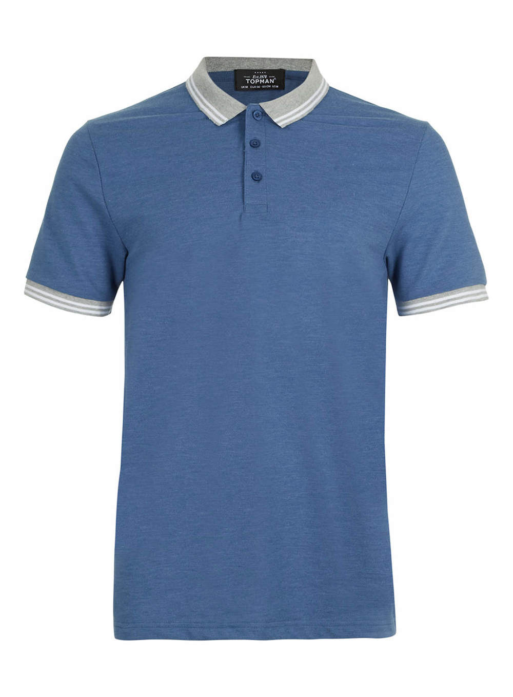 Blue Polo Shirt, now $25
