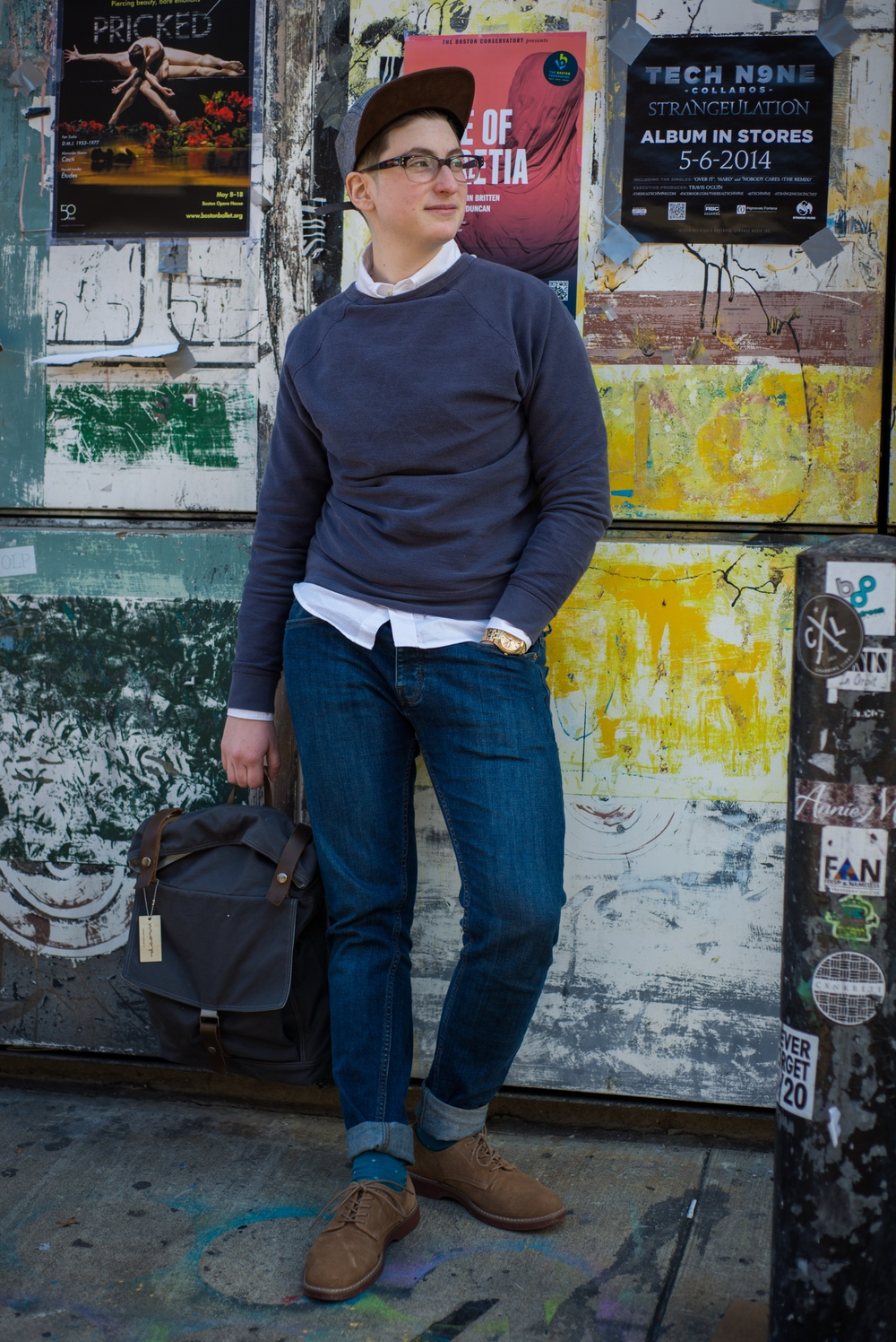 Sonny Oram Dapper Streetwear with Everlane, Brixton, Moop