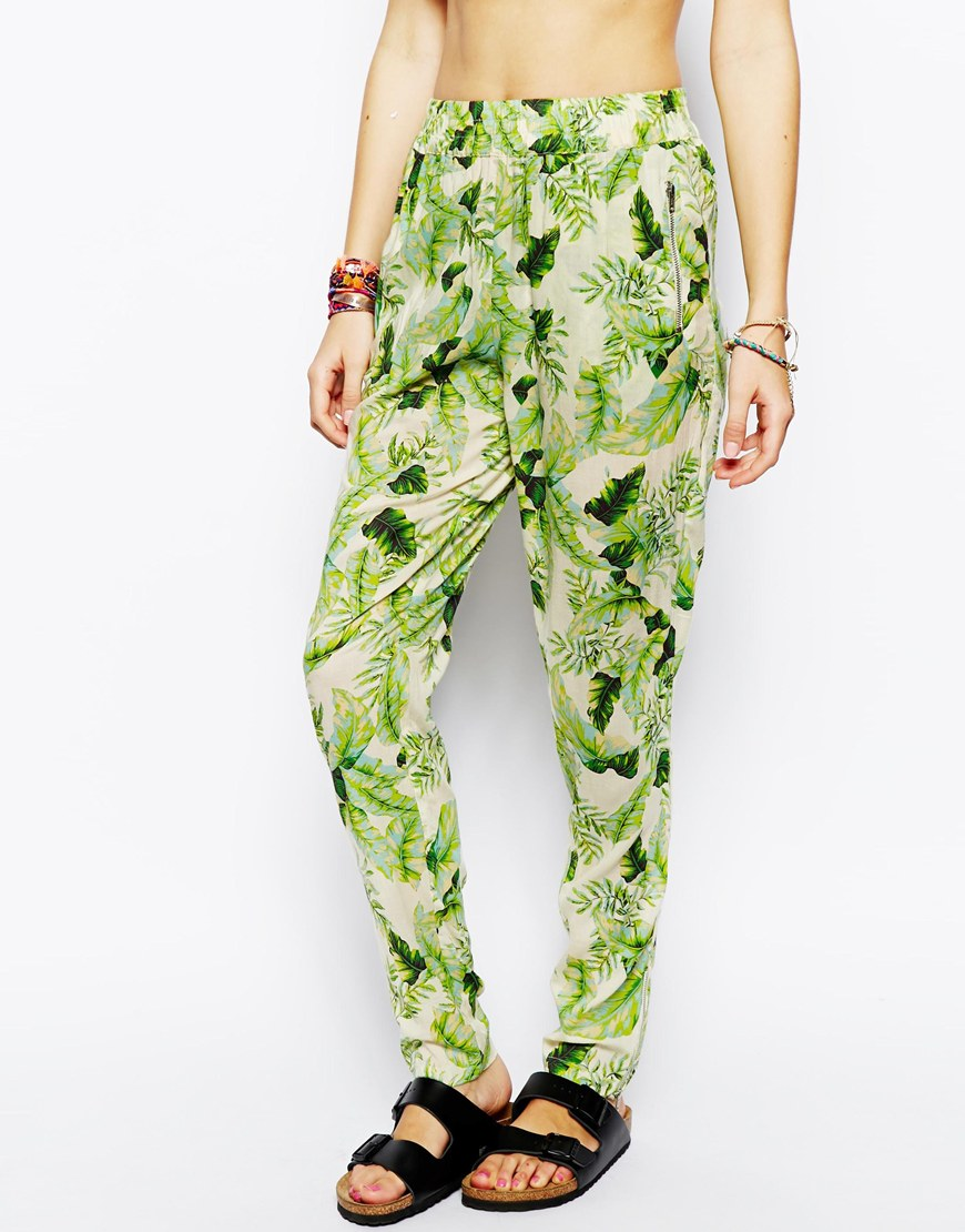 ASOS Tropical Print Beach Pant, now $28.58