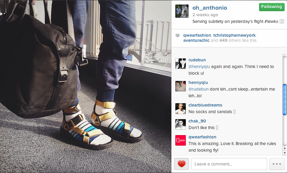 Sandals with SOCKS Turns Fever in the Fashion World