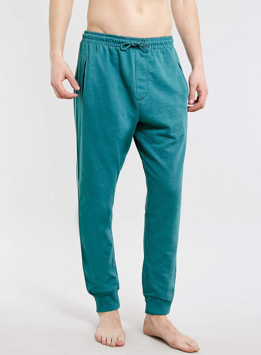 Topman Teal Marl Joggers   Was $40,  now $12