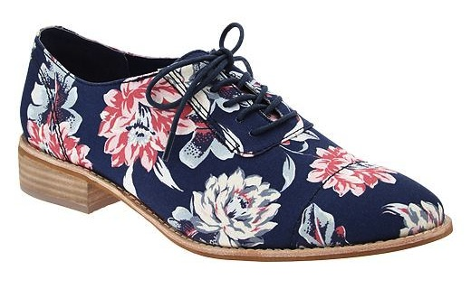Printed canvas oxfords, Gap, on sale for $48.99