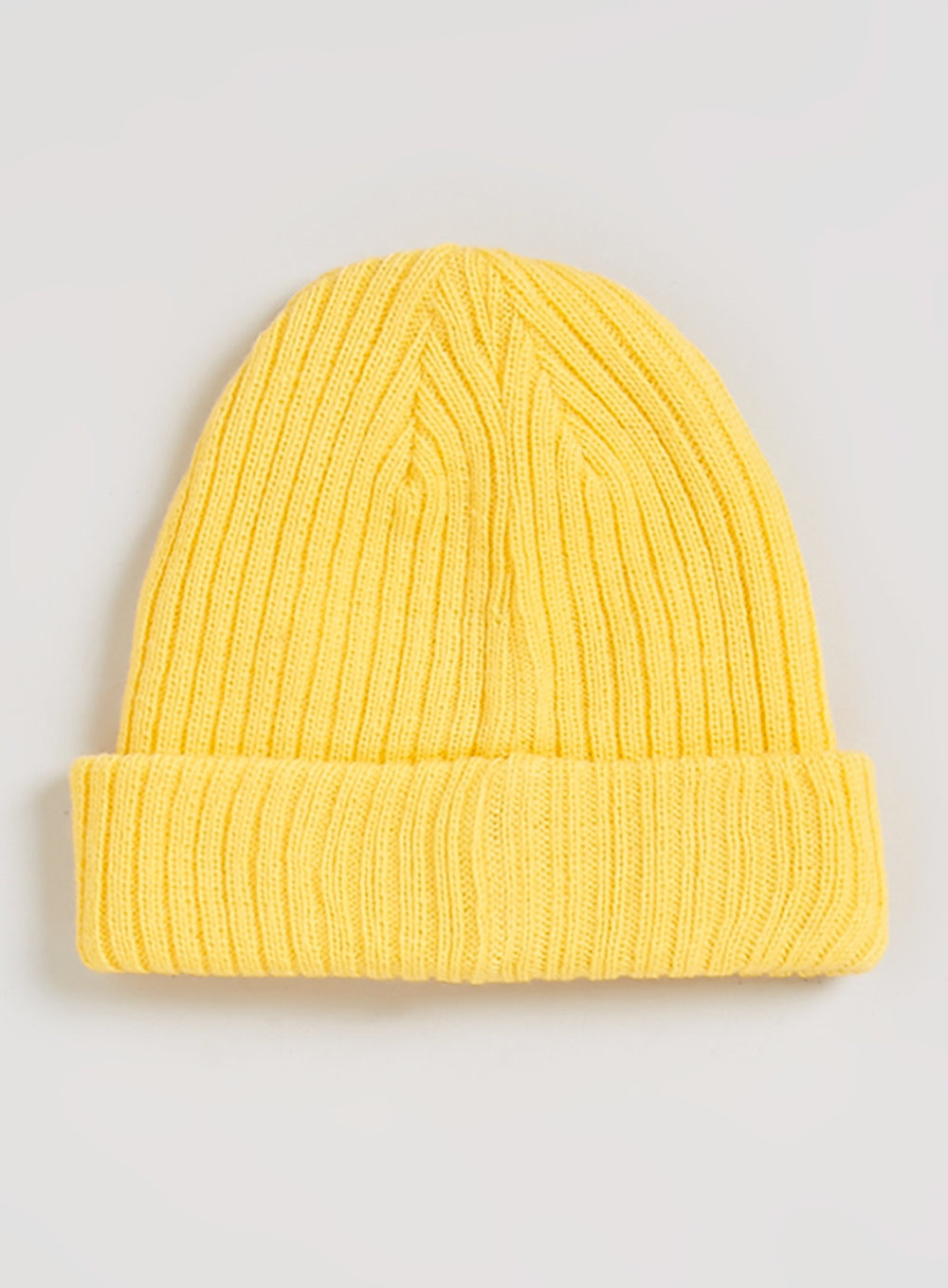 Yellow Double Layered Beanie , was $15, now $12
