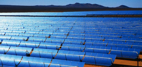 Timberland's solar array at their distribution center in Ontario, CA