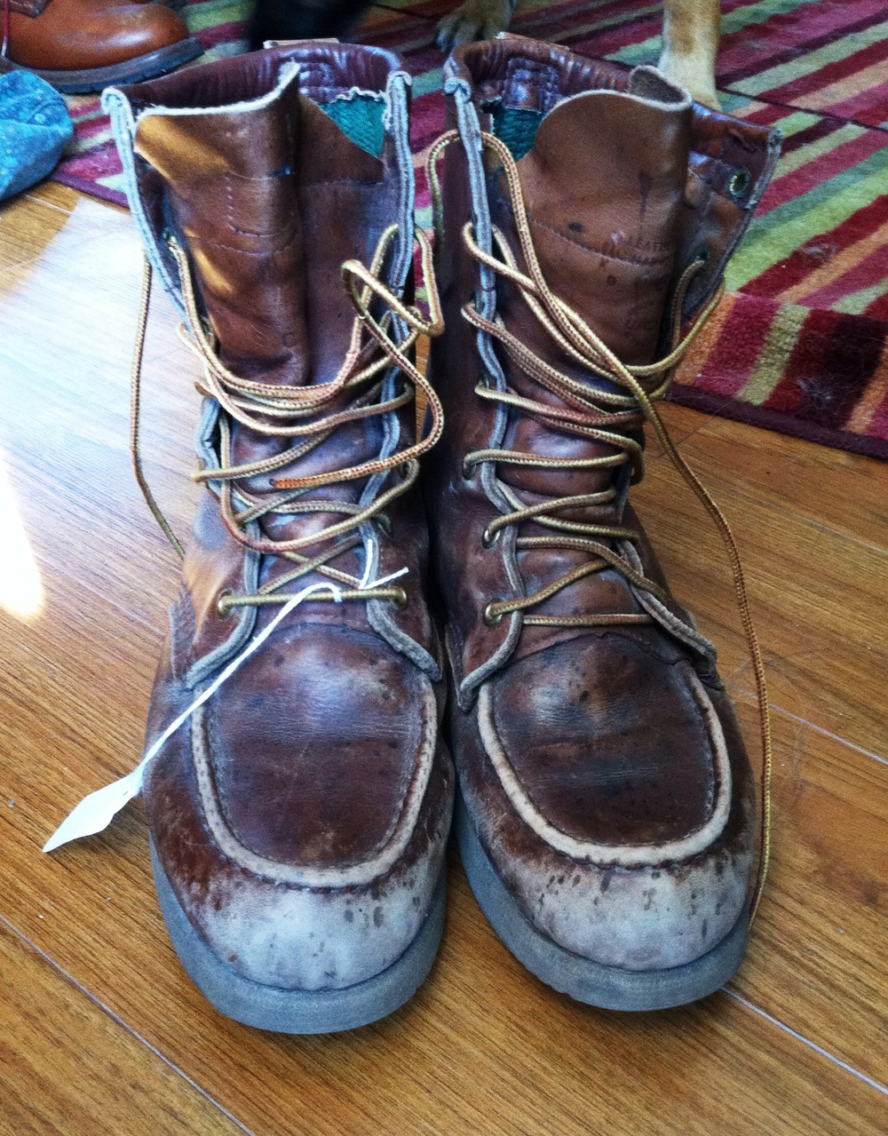 smarts on shoe care refurbishing leather boots