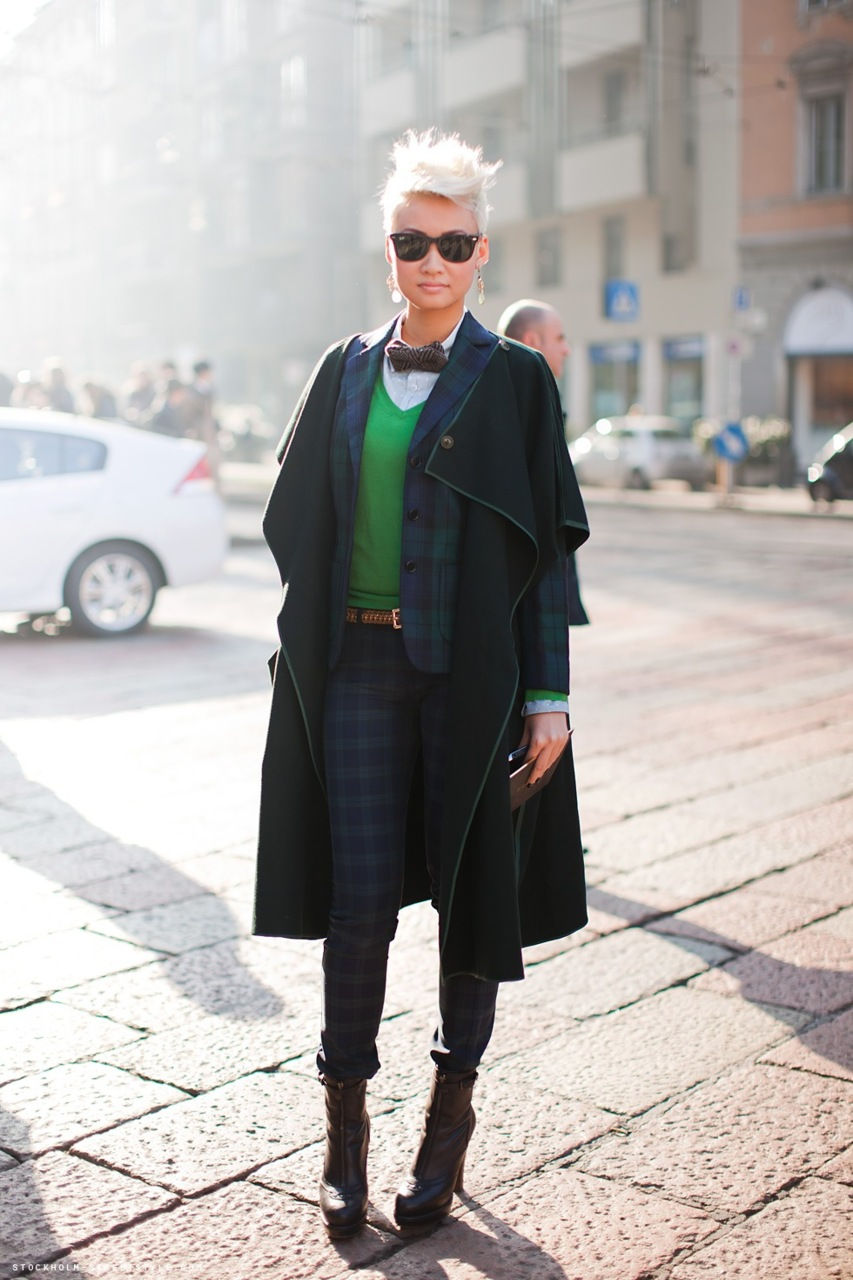 Esther Quek, From:  lazylipstick.com